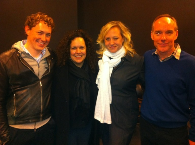 With (L-R) Dan Collins, Julianne Wick Davis & Michael Winther When We Met at CAP 21