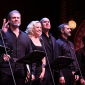 with Dennis O'Hare,  Marc Kudisch, Merwin Foard, Ken Krugman and Chris Peluso (L-R) Assassins Reunion, Roundabout Theatre Company's Benefit Concert, Studio 54