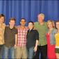 Bryce Ryness, Stanley Bahorek, Jonathan Hammond, Donna Lynne Champlin, Ryan Hilliard and Mamie Parris (L-R) See Rock City & Other Destinations Off-Broadway